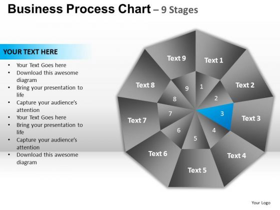 PowerPoint Designs Process Circular Quadrant Ppt Presentation