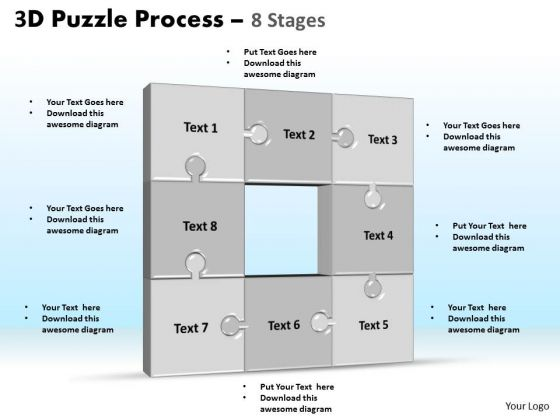 PowerPoint Designs Process Puzzle Process Ppt Presentation Designs