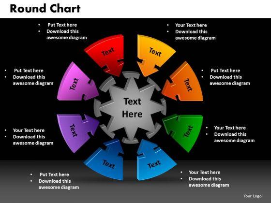 PowerPoint Designs Round Chart Business Ppt Presentation Designs
