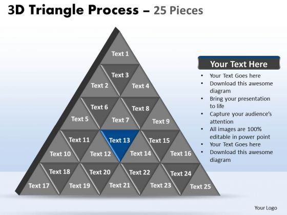 PowerPoint Designs Sales Triangle Process Ppt Designs