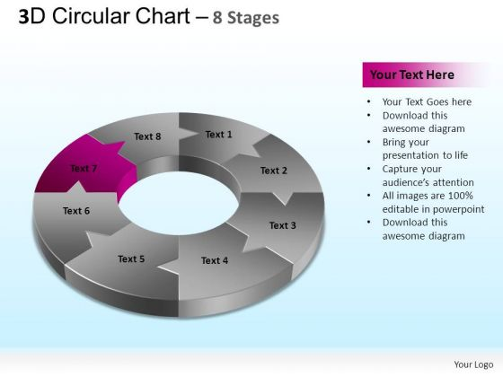 PowerPoint Designs Strategy Circular Chart Ppt Designs