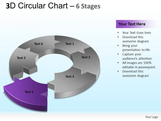 PowerPoint Designs Strategy Circular Chart Ppt Slide Designs