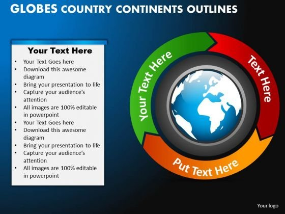 PowerPoint Designs Strategy Globes Country Ppt Templates