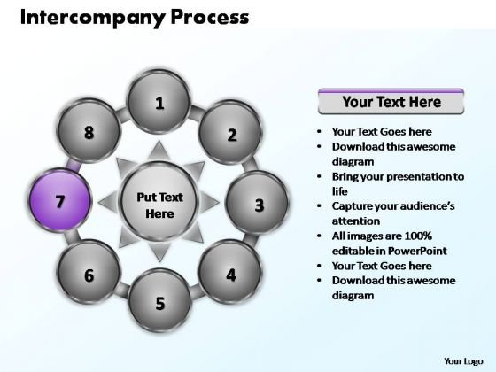 PowerPoint Designs Strategy Intercompany Process Ppt Template