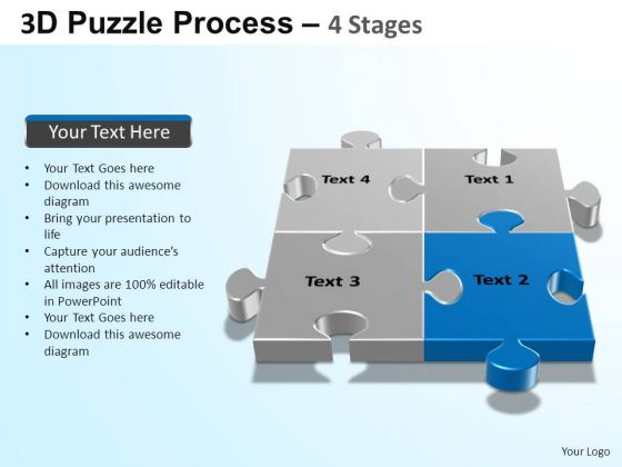 PowerPoint Designs Strategy Puzzle Process Ppt Slide Designs