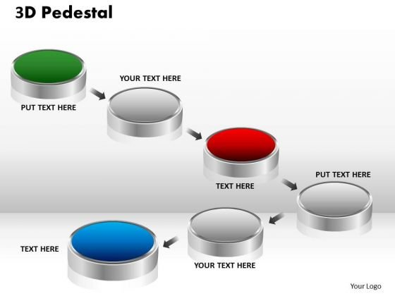 PowerPoint Designs Success 3d Pedestal Ppt Presentation