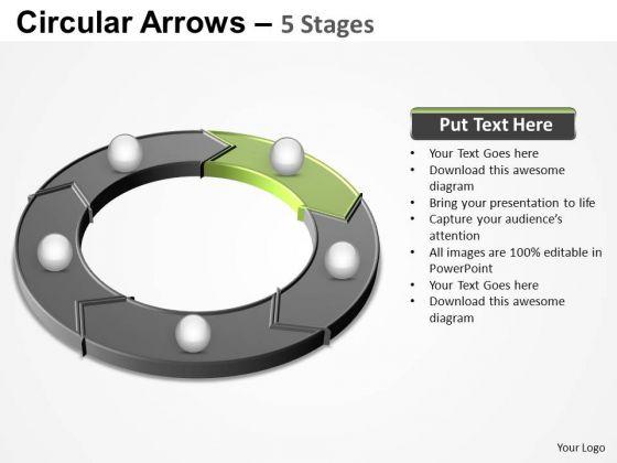 PowerPoint Designs Success Circular Arrows Ppt Design