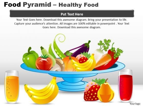 PowerPoint Designs Success Food Pyramid Ppt Slides