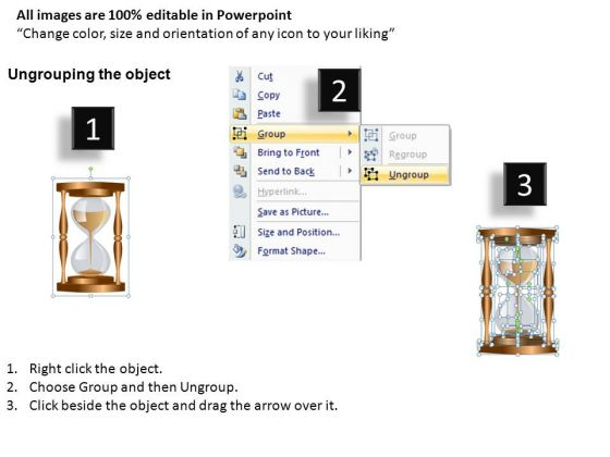 powerpoint_diagram_of_an_hourglass_editable_slides_2