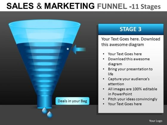 PowerPoint Diagrams Funnel Slides