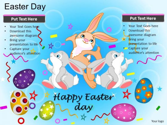 PowerPoint Easter Rabbit Easter Bunny Ppt Presentation