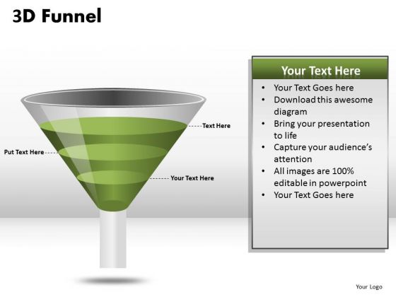 PowerPoint Funnel Diagrams Download For Businesses