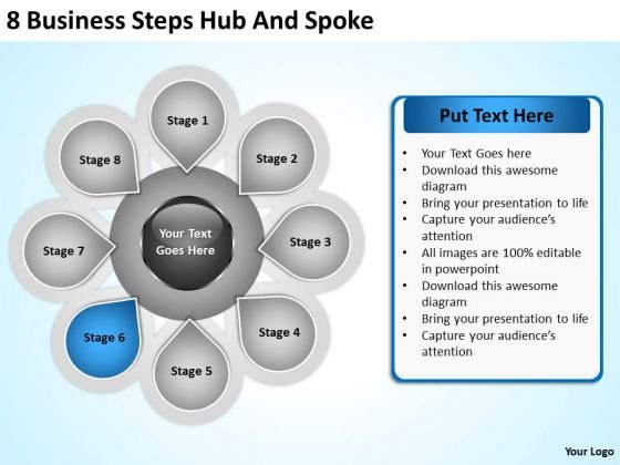 PowerPoint Graphics Business Templates Free Download Steps Hub And ...