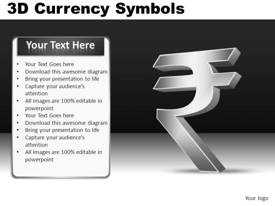PowerPoint Indian Rupee Symbol