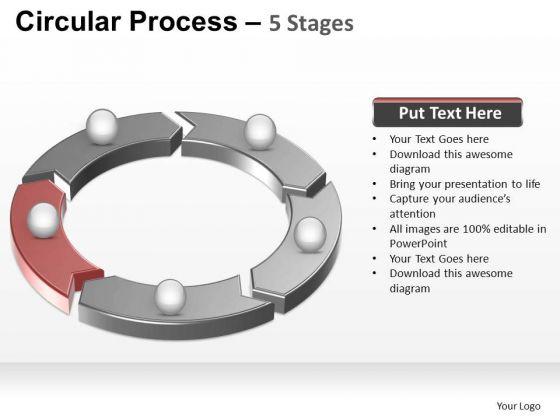 PowerPoint Layout Chart Circular Process Ppt Templates