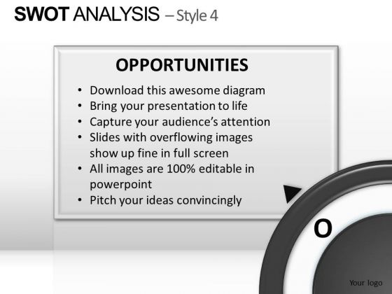 PowerPoint Layout Chart Swot Analysis Ppt Design