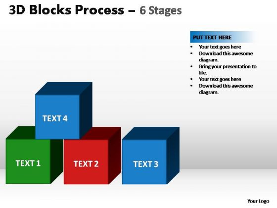 PowerPoint Layout Company Blocks Process Ppt Design Slides