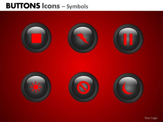 PowerPoint Layout Company Education Buttons Icons Ppt Slidelayout