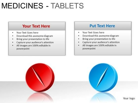 PowerPoint Layout Company Medicine Tablets Ppt Backgrounds