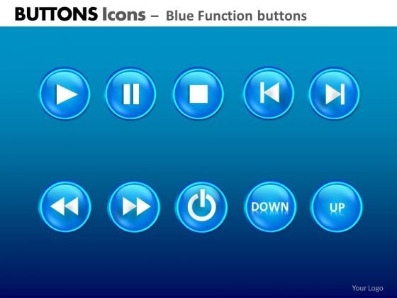 PowerPoint Layout Company Teamwork Buttons Icons Ppt Layouts