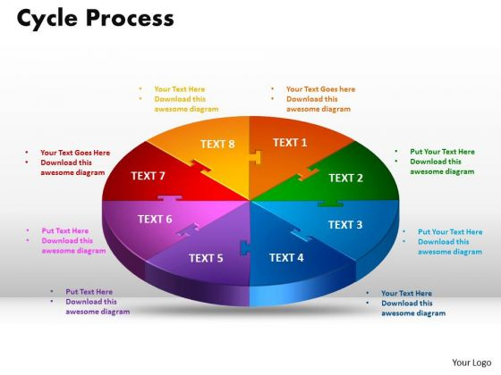 PowerPoint Layout Cycle Process Graphic Ppt Template