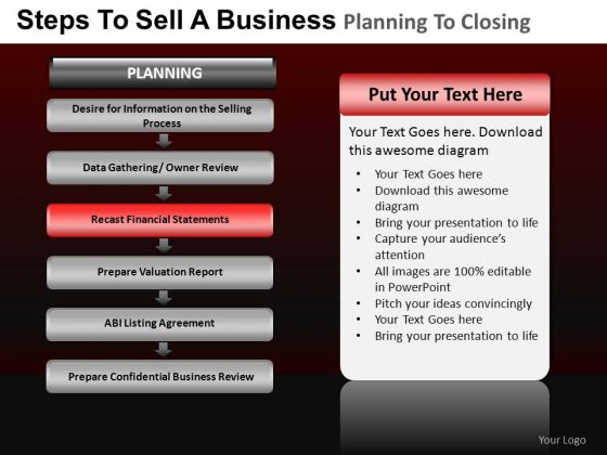 PowerPoint Layout Diagram Business Planning Ppt Slides