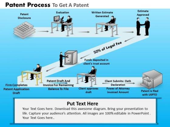 PowerPoint Layout Diagram Patent Process Ppt Presentation