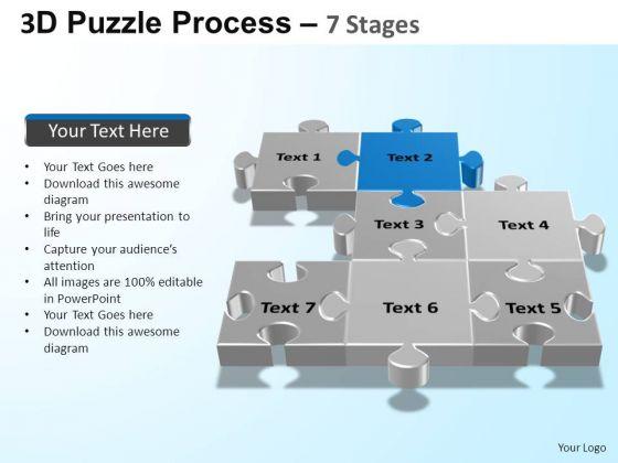 PowerPoint Layout Diagram Puzzle Process Ppt Design Slides