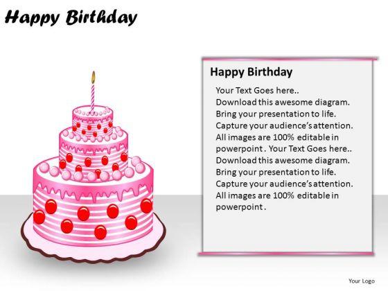 PowerPoint Layout Download Happy Birthday Ppt Design Slides