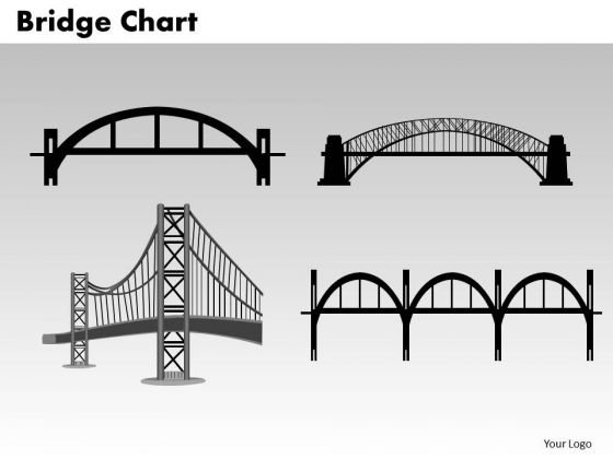 PowerPoint Layout Editable Bridge Chart Ppt Design