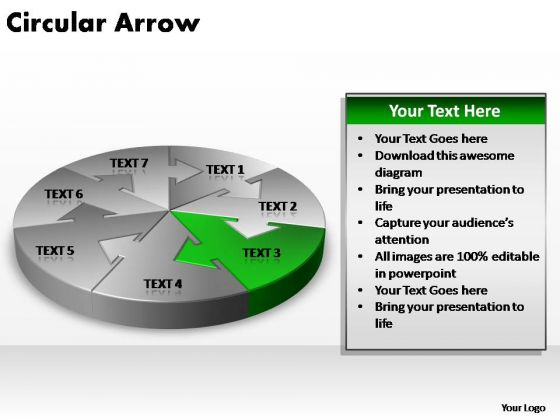 PowerPoint Layout Education Circular Arrow Ppt Theme