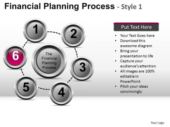 PowerPoint Layout Executive Leadership Financial Planning Process Ppt Slide