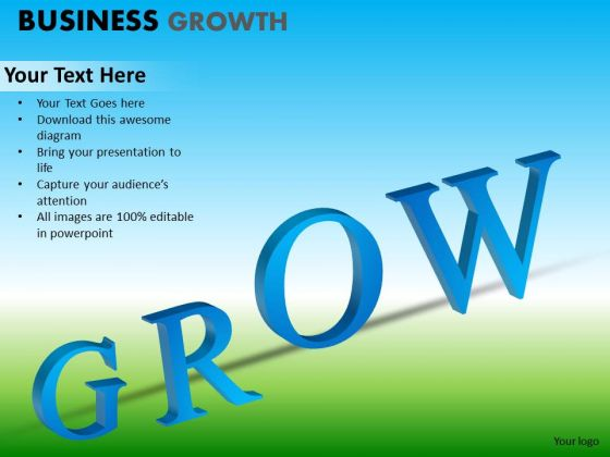 PowerPoint Layout Executive Strategy Business Growth Ppt Process