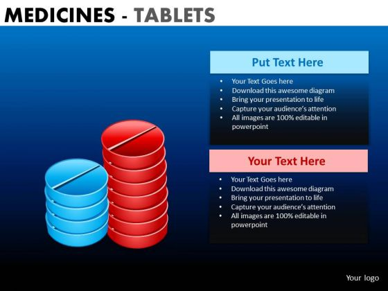 PowerPoint Layout Executive Teamwork Medicine Tablets Ppt Presentation