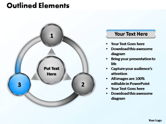 PowerPoint Layout Global Outlined Elements Ppt Slide Designs