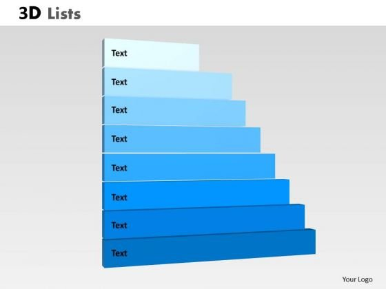 PowerPoint Layout Graphic List Ppt Slides