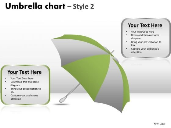 PowerPoint Layout Graphic Umbrella Chart Ppt Layouts