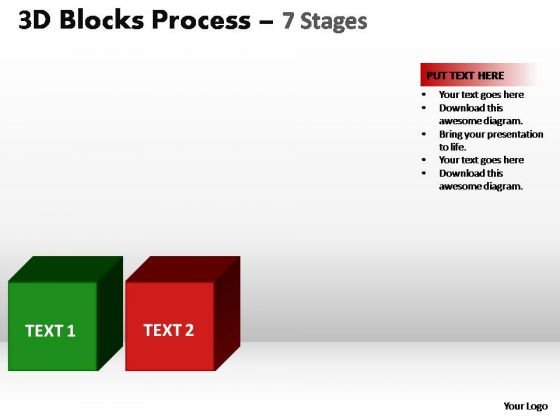 PowerPoint Layout Image Blocks Process Ppt Design