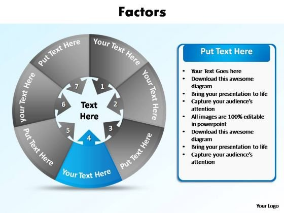PowerPoint Layout Image Contributing Factors Ppt Design