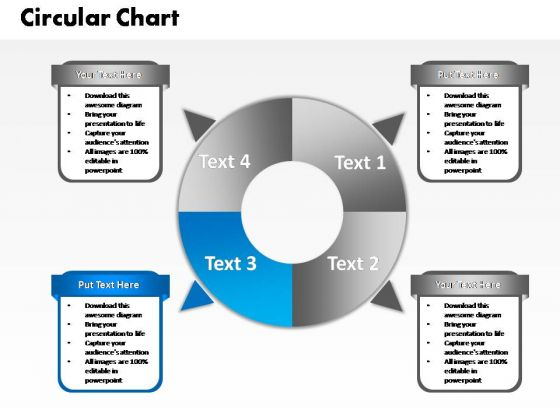 PowerPoint Layout Image Four Circular Ppt Slide Designs