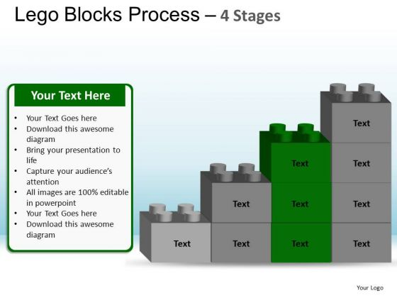 PowerPoint Layout Image Lego Blocks Ppt Backgrounds