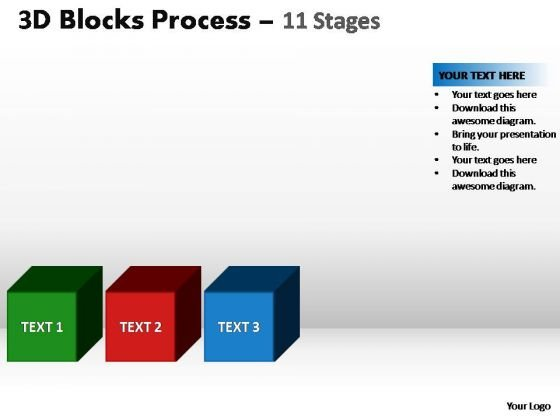 PowerPoint Layout Leadership Blocks Process Ppt Backgrounds