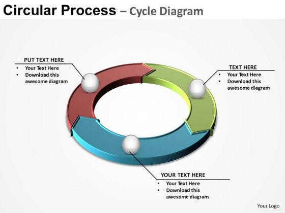 PowerPoint Layout Leadership Circular Process Ppt Backgrounds