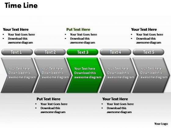 PowerPoint Layout Leadership Flow Process Ppt Slide