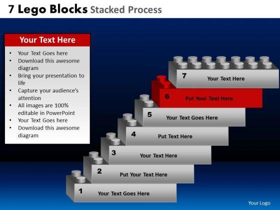 PowerPoint Layout Process Lego Blocks Ppt Slides