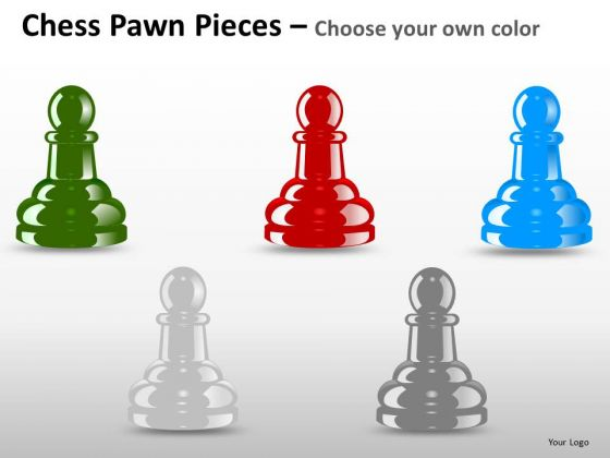 PowerPoint Layout Sales Chess Pawn Ppt Themes