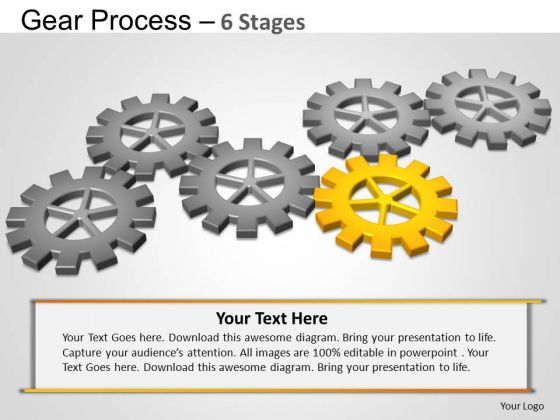 PowerPoint Layout Sales Gears Process Ppt Designs
