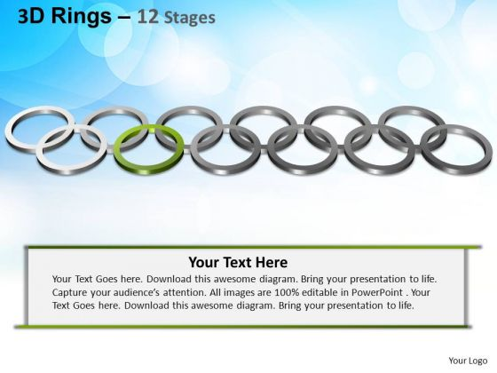 PowerPoint Layout Strategy Rings Ppt Template