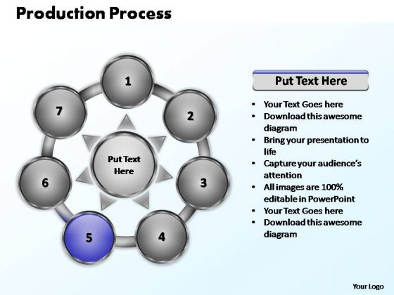 PowerPoint Layout Success Production Process Ppt Templates