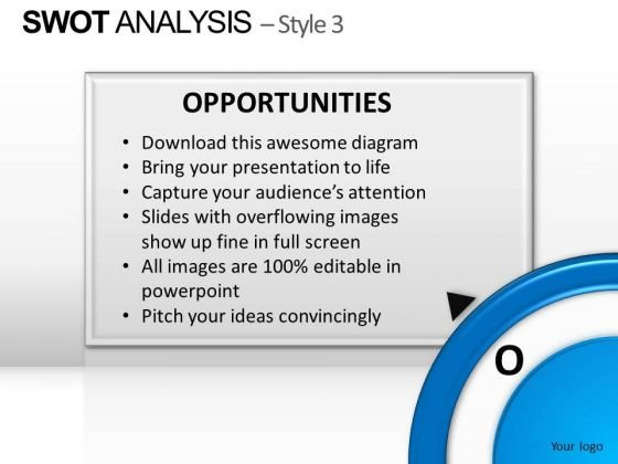 PowerPoint Layout Teamwork Swot Analysis Ppt Template